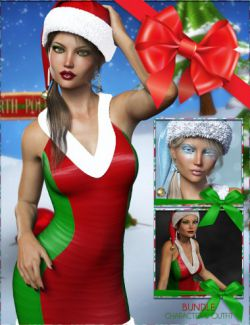 Sexy Christmas Elf Bundle – FWSA Yulia HD and her Finery