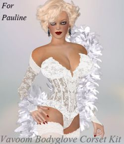 A#1 Vavoom Bodyglove Corsets Pauline