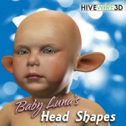 Baby Luna's Head Shapes