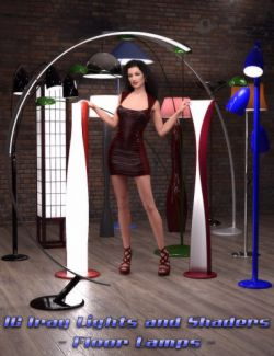 IG Iray Lights and Shaders- Floor Lamps