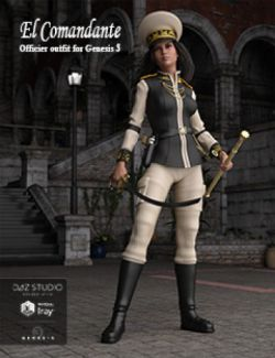 El Comandante, Officer Outfit for Genesis 3 Female(s)