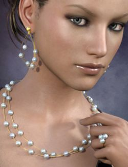 Delicate Jewels for Genesis 3 Female(s)