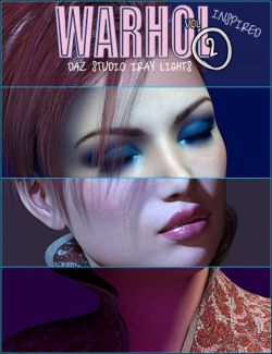 Warhol Inspired Spot Lighting for Daz Studio Iray Vol 2