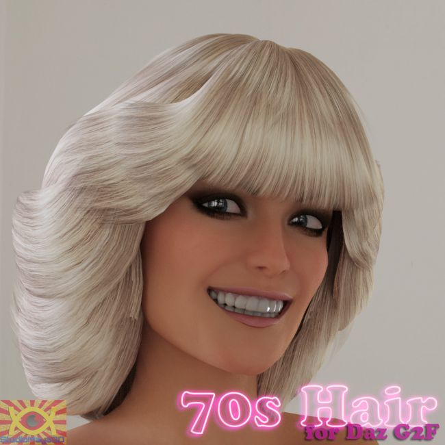 70s Hair for G2F