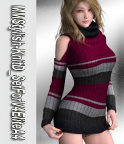 MMStylish-KnitD_SetForV4EliteA4