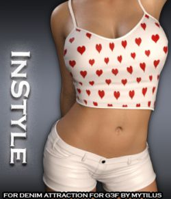 InStyle- Denim Attraction For Genesis 3
