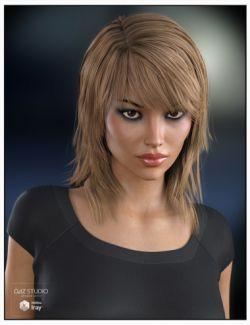 Sally Hair for Genesis 3 Female(s) and Genesis 2 Female(s)