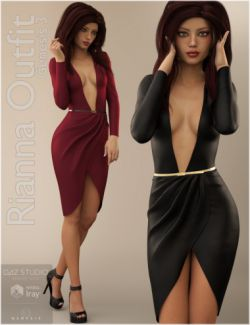 Rianna Outfit for Genesis 3 Female(s)