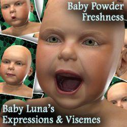 Baby Luna's Expressions & Visemes