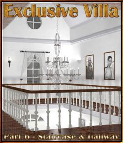 Exclusive Villa 6: Staircase and Hallways
