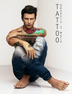 Tattoo for Genesis 3 Male(s)
