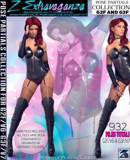 Z Extravaganza - Pose Separates Collection - G2F-V6/G3F-V7
