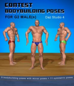Bodybuilding poses for G2 male(s)