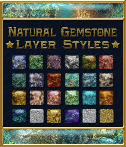 Natural Gemstone Layer Styles
