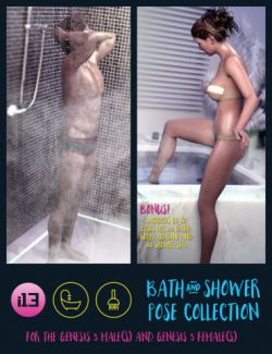 i13 Bath and Shower Pose Collection