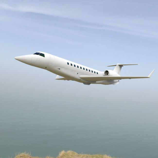 Embraer Legacy (for Poser)
