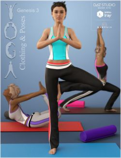 Yoga for Genesis 3 Female(s)