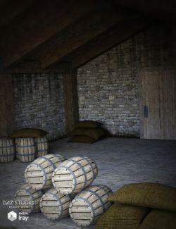 Medieval Storage Room