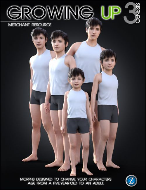 Growing Up for Genesis 3 Male(s)