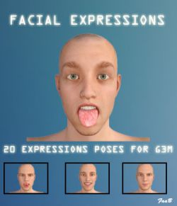 Facial expressions for G3M