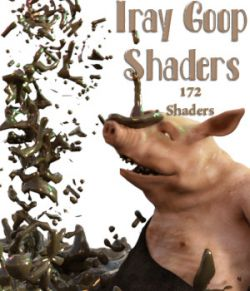 The Goop Shaders For Daz Studio 4.8 Iray