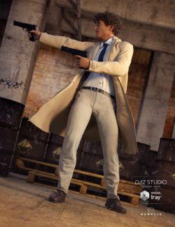 Classic Trenchcoat for Genesis 3 Male(s)