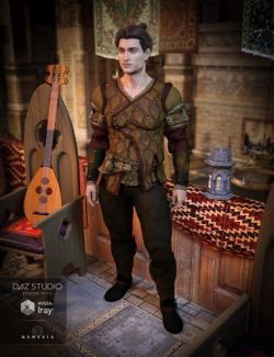 The Bard Outfit for Genesis 3 Male(s)