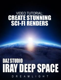 Daz Studio Iray Deep Space Video Tutorial