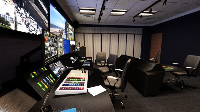 Brilliant Security Expert Building With Control Room 3D Models For Poser Largest Home Design Picture Inspirations Pitcheantrous