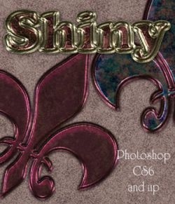 Shiny Photoshop Styles
