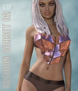 Fashion Corset 02 for G3F