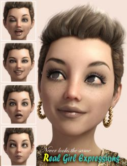 RealGirl Expressions for Genesis 3 Female(s)