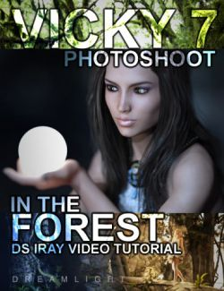Vicky 7 Photoshoot In The Forest Video Tutorial