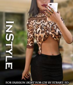 InStyle - Fashion Skirt for Genesis 3 Female(s)