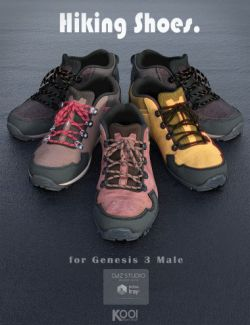 Hiking Shoes for Genesis 3 Male(s)