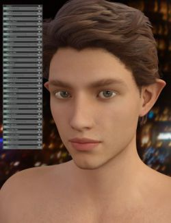 Genesis 3 Male Head Morph Resource Kit