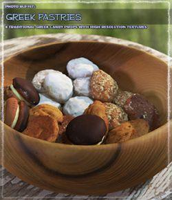 Photo Buffet: Greek Pastries