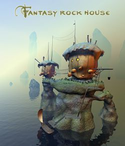 Fantasy rock house