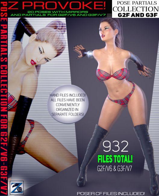 Z Provoke - Pose Separates Collection - G2F-V6/G3F-V7