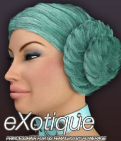 eXotique Princess Hair for G3 female(s)