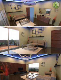 Modern Living Room Set 1