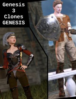 Genesis 3 Clones for Genesis Bundle