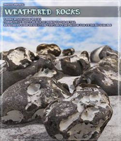 Photo Props: Weathered Rocks