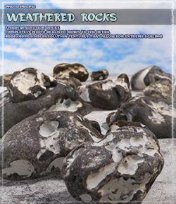 Photo Props: Weathered Rocks