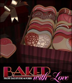 Baked with Love Props DS and Poser