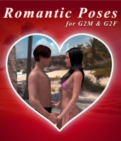 Romantic Poses for Genesis 2