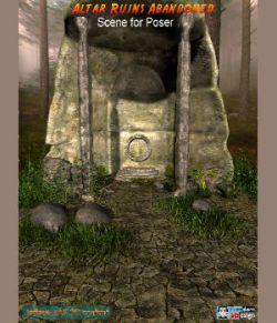 Altar Ruins Abandoned Poser