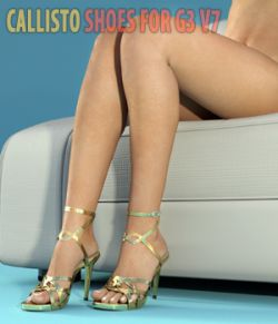 Callisto Shoes - for Genesis 3