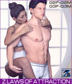 Z Laws Of Attraction- Genesis 2 Female & Male- Genesis 3 Female & Male