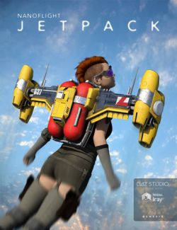 Nanoflight Jetpack for Genesis 2 and 3